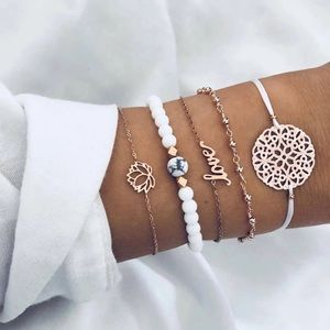 Jewelry - LOTUS BRACELET SET